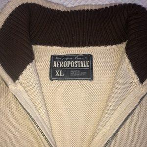 Aeropostale Men's quarter zip sweater Sz XL